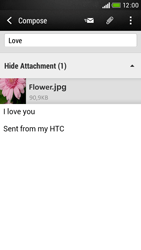 HTC Desire 601 - E-mail - Sending emails - Step 17