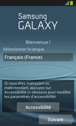 Samsung Galaxy S3 Mini - Premiers pas - Créer un compte - Étape 2
