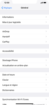 Apple iPhone XR - Applications - Supprimer une application - Étape 4