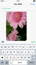 Apple iPhone 6 - MMS - Sending pictures - Step 12