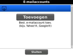 BlackBerry 9700 Bold - E-mail - Handmatig instellen - Stap 13