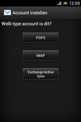 Sony Xperia E (C1505) - E-mail - Handmatig instellen - Stap 8
