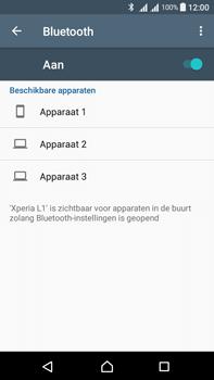 Sony Xperia L1 - WiFi en Bluetooth - Bluetooth koppelen - Stap 6