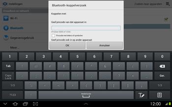 Samsung P5100 Galaxy Tab 2 10-1 - Bluetooth - koppelen met ander apparaat - Stap 9