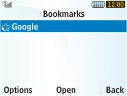Samsung S3350 Chat 335 - Internet - Internet browsing - Step 8