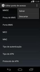 Motorola Moto X (2014) - Internet (APN) - Como configurar a internet do seu aparelho (APN Nextel) - Etapa 15