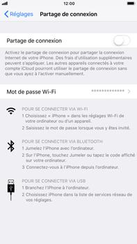 Apple iPhone 7 Plus - iOS 11 - Internet et connexion - Utiliser le mode modem par USB - Étape 4