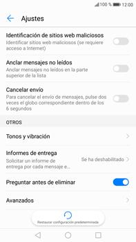 Huawei Mate 9 - Mensajería - Configurar el equipo para mensajes de texto - Paso 5
