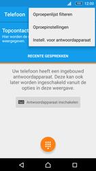 Sony Xperia M5 (E5603) - Voicemail - Handmatig instellen - Stap 5