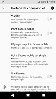 Sony Xperia XA2 Ultra - Internet et connexion - Utiliser le mode modem par USB - Étape 9