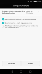 Huawei P8 - E-mail - 032c. Email wizard - Outlook - Étape 8