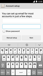 Huawei Ascend G6 - E-mail - Manual configuration - Step 8