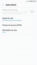 Samsung Galaxy A5 (2016) - Android Nougat - Internet no telemóvel - Como ativar 4G -  8
