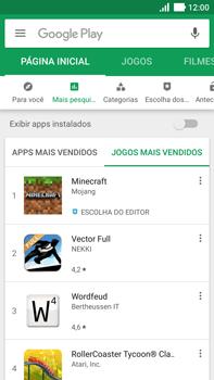 Asus Zenfone 3 - Aplicativos - Como baixar aplicativos - Etapa 12