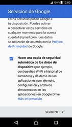Sony Xperia X - E-mail - Configurar Gmail - Paso 15