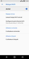 Nokia 3.1 - Internet et connexion - Partager votre connexion en Wi-Fi - Étape 11