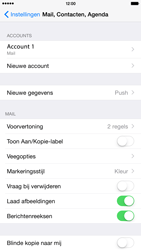 Apple iPhone 6 Plus iOS 8 - E-mail - handmatig instellen - Stap 26