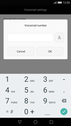 Huawei P8 - Voicemail - Manual configuration - Step 8