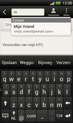 HTC T320e One V - E-mail - Hoe te versturen - Stap 6