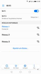 Honor 6A - Internet et connexion - Accéder au réseau Wi-Fi - Étape 8