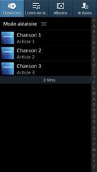 Samsung Galaxy S4 - Photos, vidéos, musique - Ecouter de la musique - Étape 4