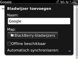 BlackBerry 9700 Bold - Internet - Internetten - Stap 6