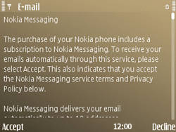 Nokia E72 - E-mail - Manual configuration - Step 11
