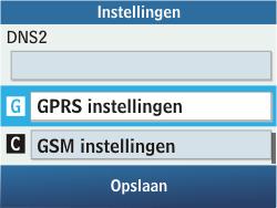 Samsung C3500 Chat 350 - Internet - Handmatig instellen - Stap 10