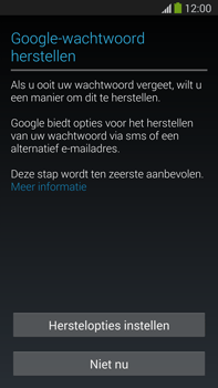 Samsung N9005 Galaxy Note III LTE - Applicaties - Account aanmaken - Stap 12