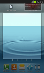 Samsung Galaxy S3 Mini - Applications - Personnaliser l