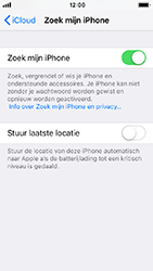 Apple iPhone SE - iOS 12 - Beveiliging en privacy - zoek mijn iPhone activeren - Stap 12
