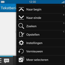 BlackBerry Q5 - SMS - Handmatig instellen - Stap 4