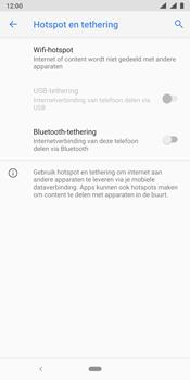 Nokia 9 - Internet - mijn data verbinding delen - Stap 6