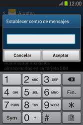 Samsung S6310 Galaxy Young - Mensajería - Configurar el equipo para mensajes de texto - Paso 7