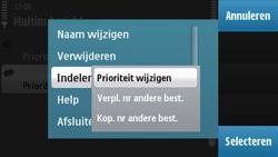 Nokia N97 - MMS - handmatig instellen - Stap 13