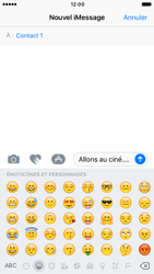 Apple iPhone 6 iOS 10 - iOS features - Envoyer un iMessage - Étape 15