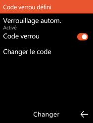 Nokia 3310 - Sécuriser votre mobile - Activer le code de verrouillage - Étape 11