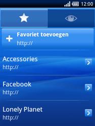 Sony Ericsson Xperia X10 Mini Pro - Internet - Hoe te internetten - Stap 5