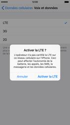 Apple iPhone 6 iOS 9 - Réseau - Activer 4G/LTE - Étape 6
