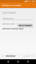 Crosscall Action X3 - E-mail - Configuration manuelle (outlook) - Étape 10