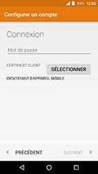 Crosscall Action X3 - E-mails - Ajouter ou modifier votre compte Outlook - Étape 10
