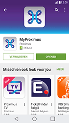 LG X Cam - Applicaties - MyProximus - Stap 10
