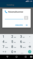 Motorola Moto G 4G (3rd gen.) (XT1541) - Voicemail - Handmatig instellen - Stap 10