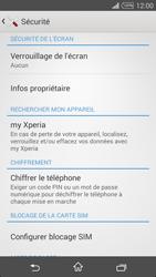 Sony Xpéria T3 - Sécuriser votre mobile - Activer le code de verrouillage - Étape 5