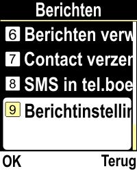 Emporia CLICKplus 3G (Model V32-3G) - SMS - Handmatig instellen - Stap 4