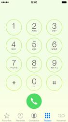 Apple iPhone 5s iOS 8 - SMS - Como configurar o centro de mensagens -  5