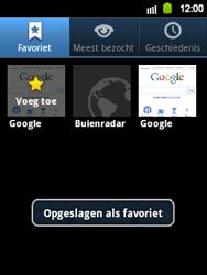 Samsung S5360 Galaxy Y - Internet - Hoe te internetten - Stap 9