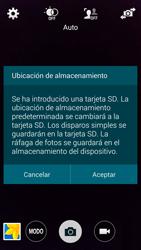Samsung G900F Galaxy S5 - Funciones básicas - Uso de la camára - Paso 4