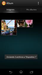 Sony Xperia L - Bluetooth - Transferir archivos a través de Bluetooth - Paso 11