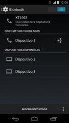 Motorola Moto X (2ª Gen) - Bluetooth - Conectar dispositivos a través de Bluetooth - Paso 8